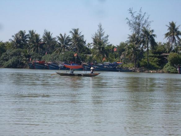 Longtail boat, Hoi An, Vietnam