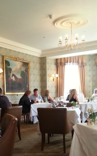 Talbot Hotel dining room, Malton