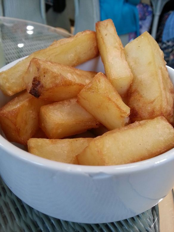 Chips, Drewton's, South Cave, East Yorkshire