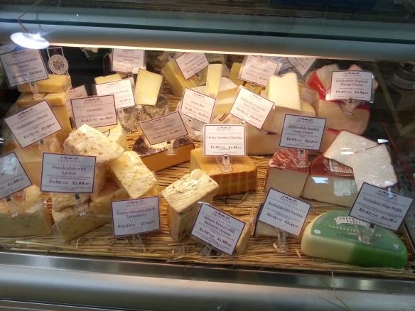Drewton's cheese counter!