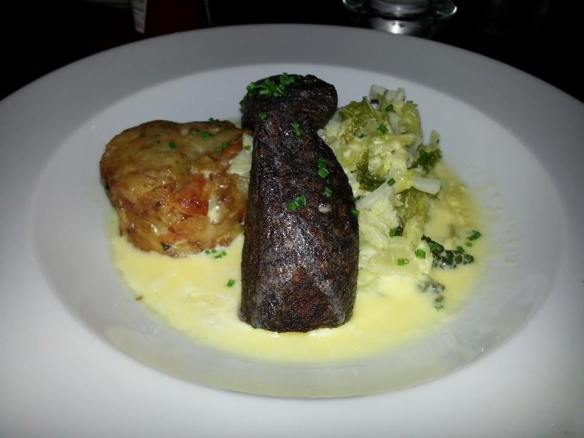 Vegetarian Black Pudding