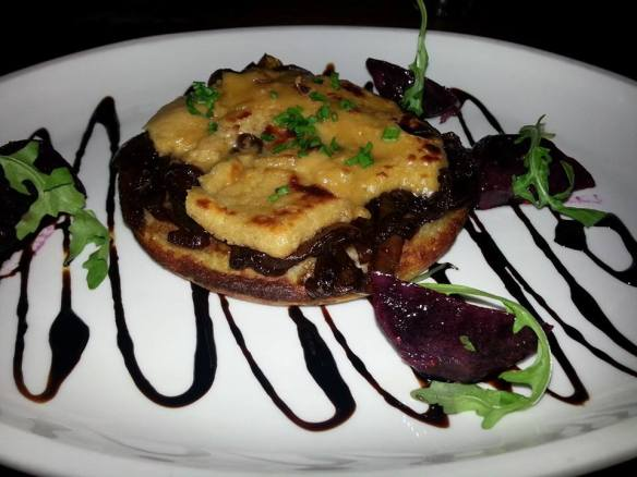 Goat's Cheese Rarebit