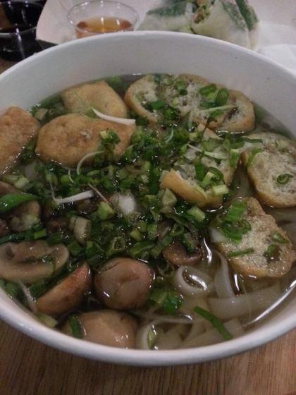 Pho Chay, Pho, Trinity Kitchen