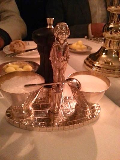 Tableware at Le Gavroche