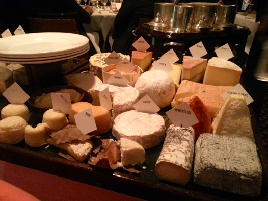 Le Gavroche, Le Plateau de Fromages Affines Selection of French and British Farmhouse Cheese