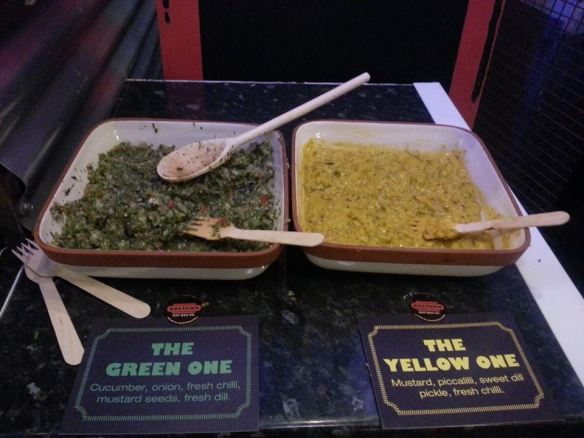 Homemade sauces from Dogtown at Trinity Kitchen