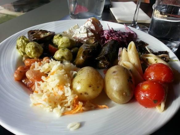 Fazenda salad buffet
