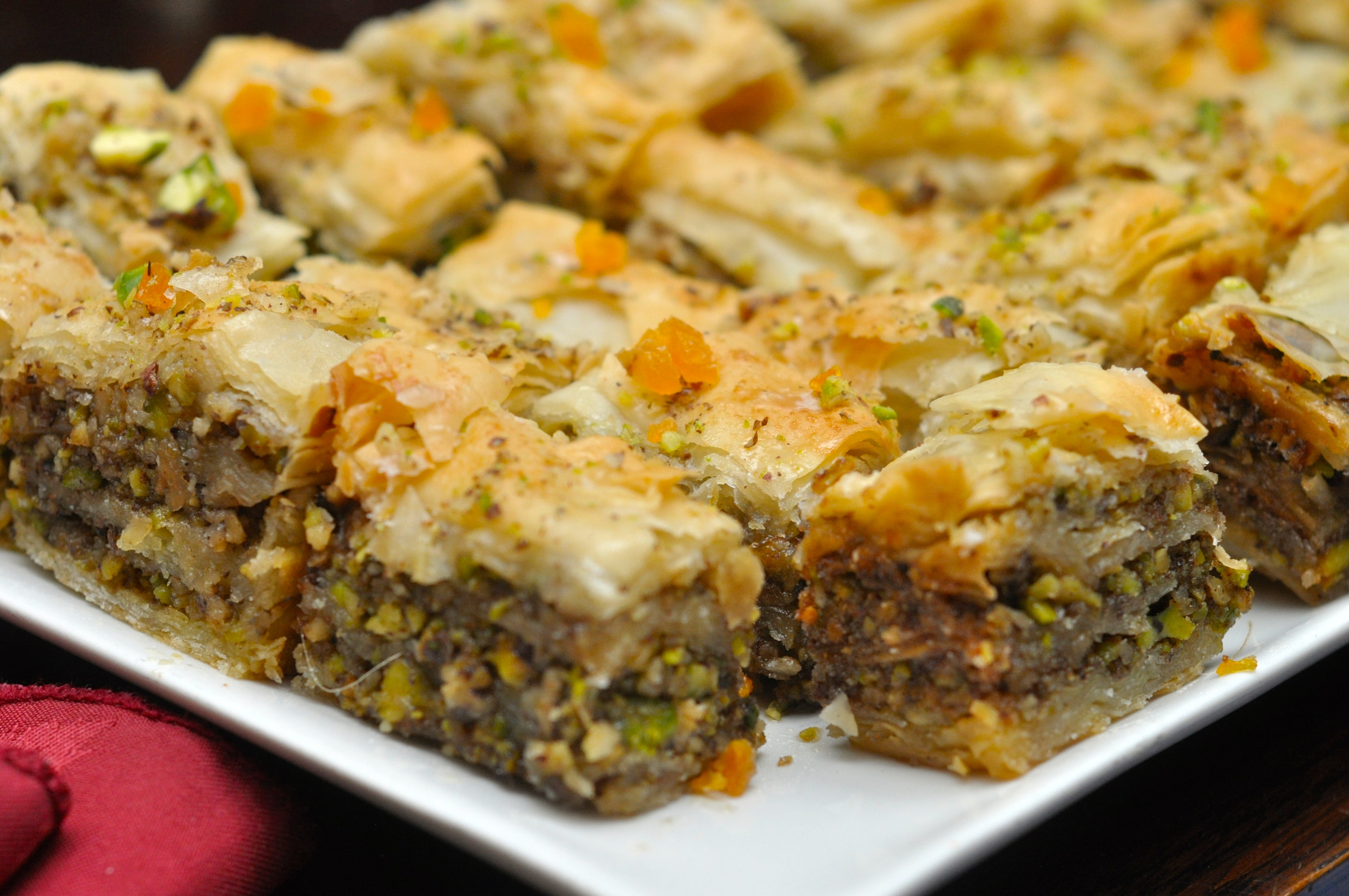 Apricot and Rose-water Baklava from The Arch Photo Credit: Jo ...