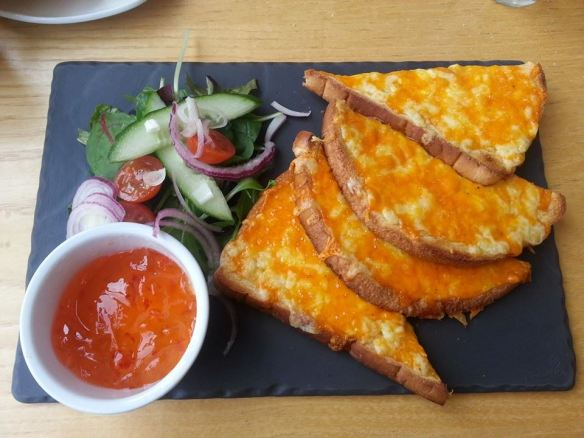 Best cheese on toast in the world?
