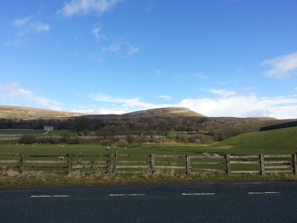 The road to Hawes