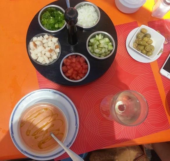 Vegetarian food in Andalusia