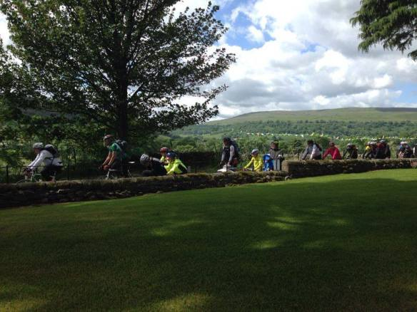 Another kind of Peloton in Buckden