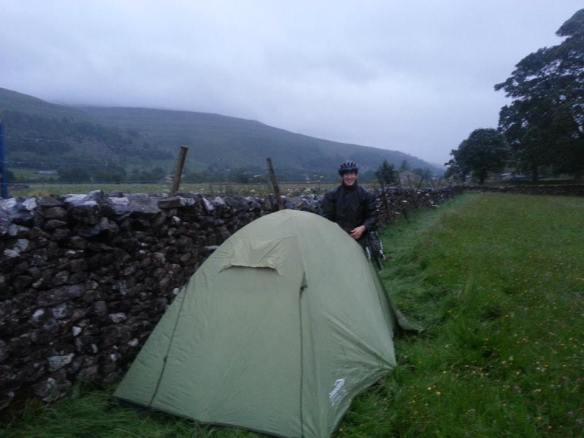 Our digs for the night, #microadventure style