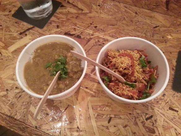 Spice and Rice and Bhel Puri at Bundobust