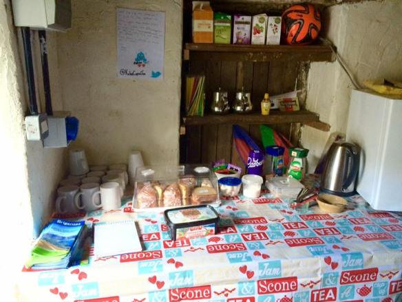 Katie's cuppas - honesty box tearoom